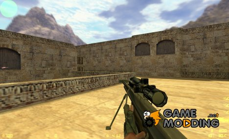 Firearms HL1 mod Barrett M82 for Counter-Strike 1.6