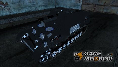 Hummel Carbon style for World of Tanks