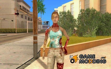 Зомби из Resident evil для GTA San Andreas