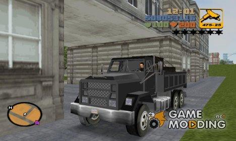 Flatbed из GTA SA для GTA 3