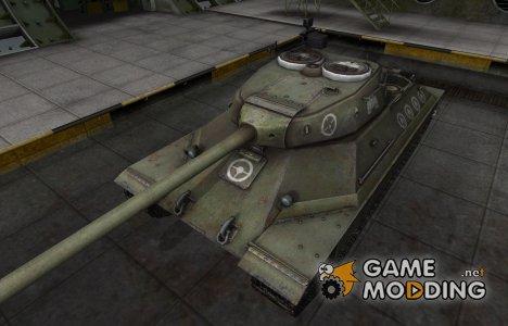 Зоны пробития контурные для ИС-6 for World of Tanks