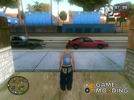 Захват територий с самого начала для GTA San Andreas