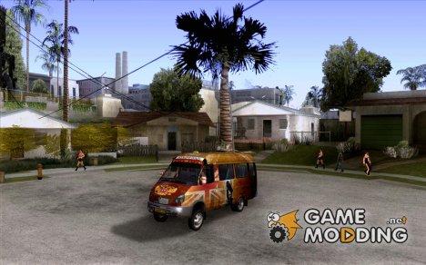 ГАЗель кульная обезбашенная for GTA San Andreas