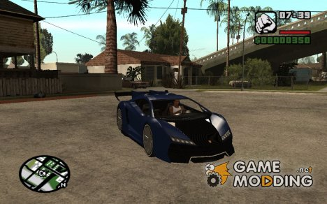 Pegassi zentorno V2 для GTA San Andreas