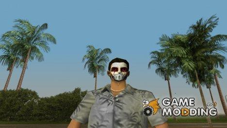 Томми с маской J-Dog for GTA Vice City