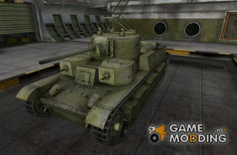 Ремоделинг для танка Т-28 для World of Tanks