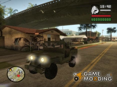 Jeep From The Bureau XCOM Declassified для GTA San Andreas