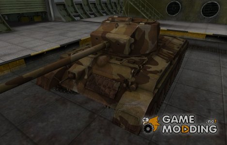 Шкурка для американского танка T23 for World of Tanks