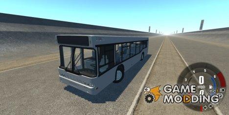 Самотлор-НН-5295 (МАЗ-103.075) серый для BeamNG.Drive