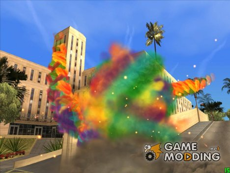 Rainbow Effects for GTA San Andreas