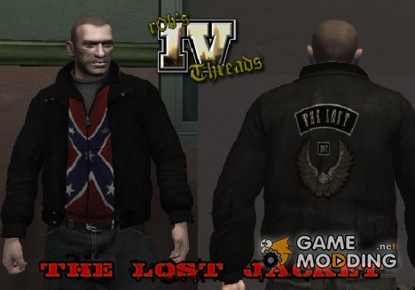 The Lost Style Jacket for GTA 4