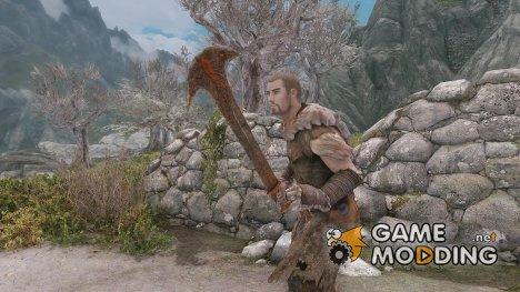 Warrior Within Weapons для TES V Skyrim