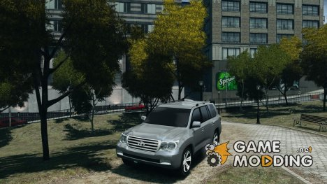 Toyota Land Cruiser 200 FINAL для GTA 4