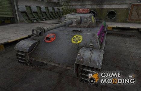 Качественные зоны пробития для PzKpfw V/IV для World of Tanks