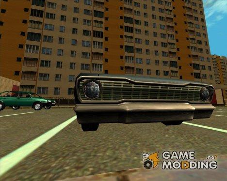 Savanna с одинарными фарами for GTA San Andreas