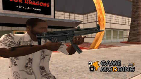 Original mp5 HD for GTA San Andreas