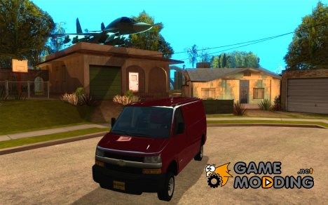 Chevrolet Savana 3500 Cargo Van for GTA San Andreas