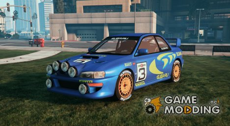 Subaru Rally 98 World Rally icon DLC WRC 2.5 для GTA 5