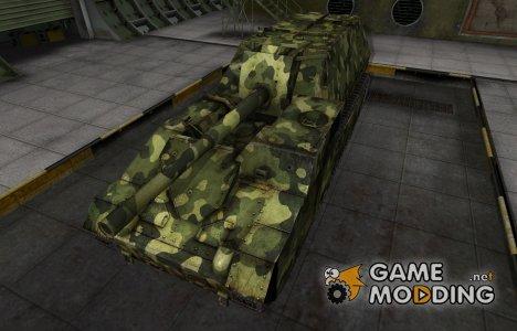Скин для СУ-14 с камуфляжем для World of Tanks