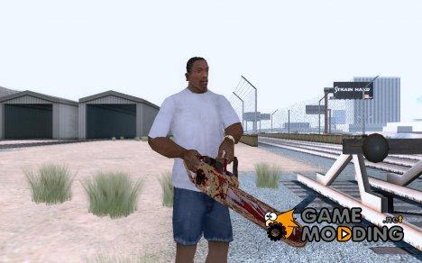 Бензопила из RE5 для GTA San Andreas
