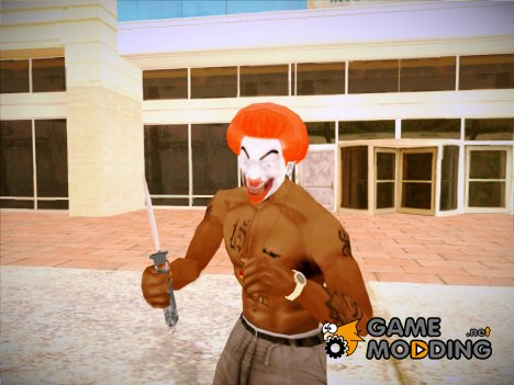 CJ - Crazy Clown for GTA San Andreas