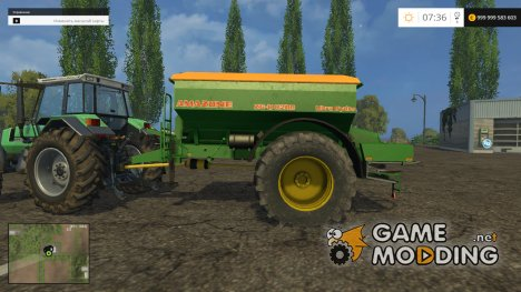 Amazone ZGB 8200 v2.0 для Farming Simulator 2015