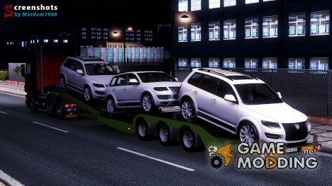 Автономный прицеп транспортер для Euro Truck Simulator 2