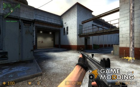 Fivenine's Galil 2tonechrome для Counter-Strike Source