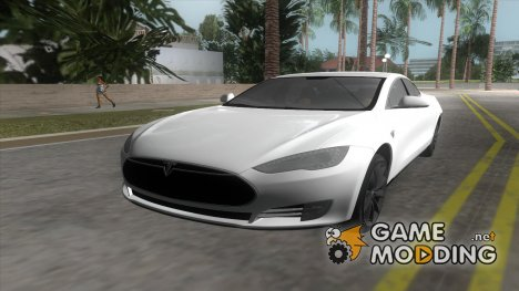 2014 Tesla Model S P85D for GTA Vice City