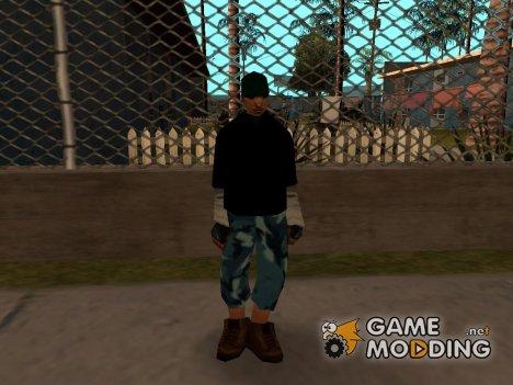 Уличный бандит for GTA San Andreas