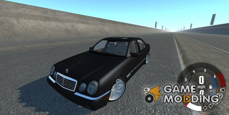 Mercedes-Benz E420 W124 Tuning for BeamNG.Drive