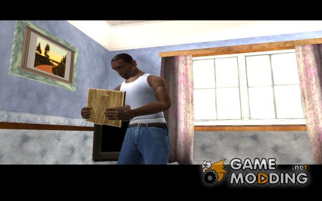Руки Си-Джея из GTA SA Mobile for GTA San Andreas