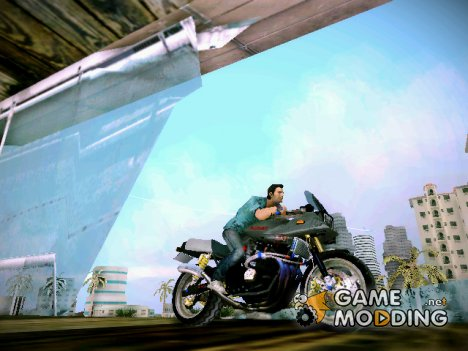 Suzuki GSX1100S Katana (Тюннинг) for GTA Vice City