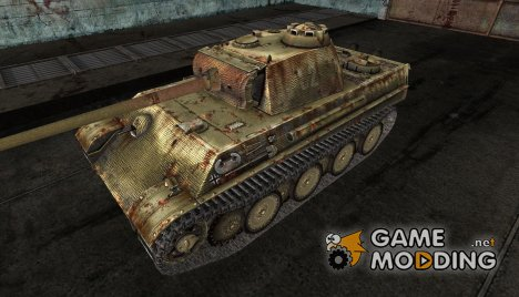 PzKpfw V Panther DanGreen for World of Tanks