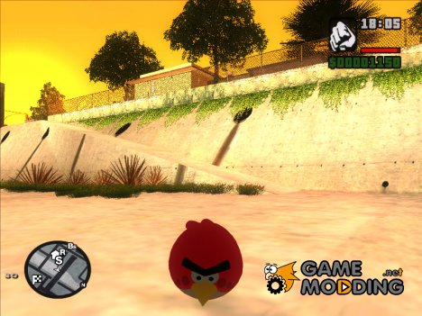Пак Angry Birds (Skin Selector) for GTA San Andreas