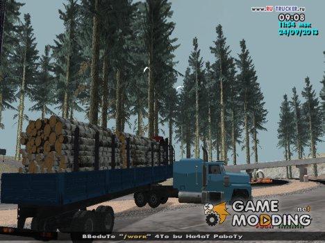 Прицеп Нефаз Лесовоз для GTA San Andreas