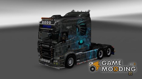 Techno для Scania RS for Euro Truck Simulator 2