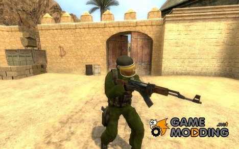 Swedish Marine Soldier для Counter-Strike Source