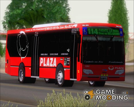 TATSA Puma D12 6C Grupo Plaza (1210) for GTA San Andreas