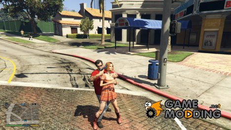Hostage Human Shield for GTA 5