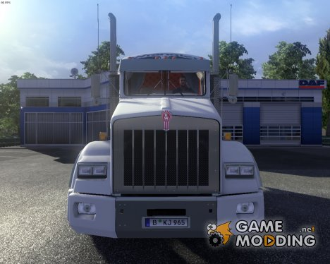Kenworth T800 Wrangler Skin for Euro Truck Simulator 2
