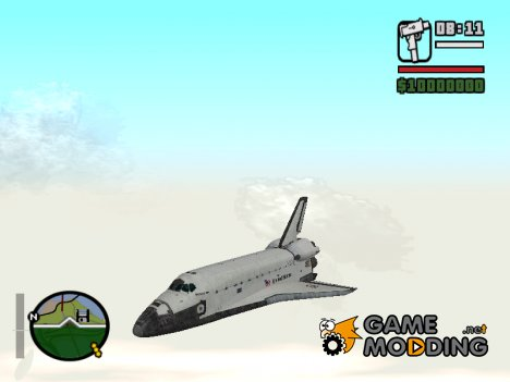 SpaceShuttle for GTA San Andreas