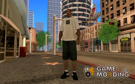 Black DC Shoes для GTA San Andreas