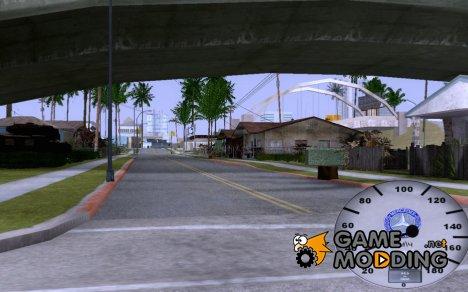 Красивый спидометр Merсedes for GTA San Andreas