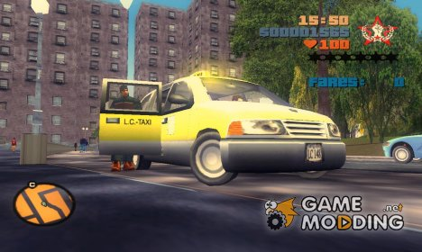 Blista Cab for GTA 3