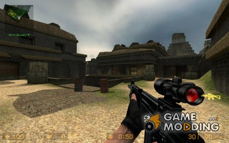 Tactical Galil For Sg552 for Counter-Strike Source
