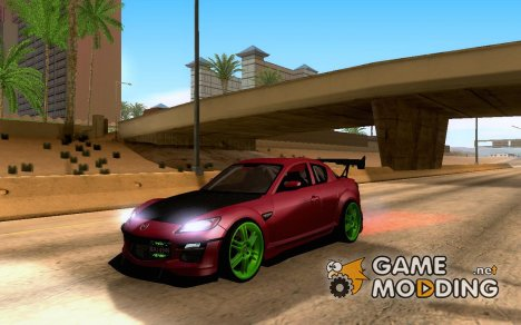 Mazda RX-8 R3 2011 Tuned for GTA San Andreas
