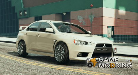 Mitsubishi Evo X BETA for GTA 5