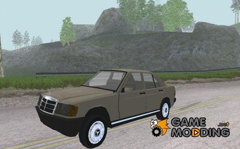 Mercedes-Benz 190 E для GTA San Andreas