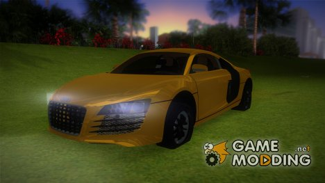 Audi Le Mans Stock for GTA Vice City